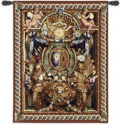 Portiere du Char de Triomphe Wall Tapestry