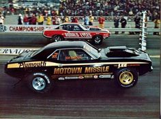 Motown Missile vs Ronald Lyles .... Vintage Drag Racing - Photo Club