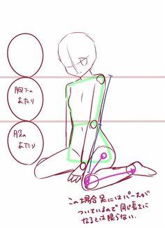 埋め込み画像への固定リンク  #body Drawing Body Proportions, Body Drawing, Anatomy Drawing, Drawing Base, Drawing Skills, Drawing Lessons, Drawing Techniques, Drawing Tips, Manga Drawing Tutorials