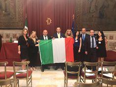 Cuore Nazionale Abruzzo: consegnata la bandiera istituzionale al Parlamento della legalità internazionale