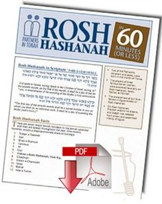 The Hebrew month of Elul is right around the corner! It's not too early to start thinking about, and preparing for, Rosh Hashana.