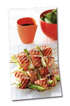 Chinese New Year. Thomas Dux - BBQ Salmon Kebabs