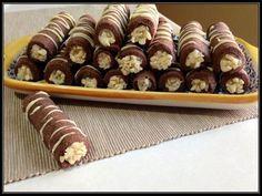 Cannoli, Biscotti Cookies, Cake Cookies, Nutella, Easy Desserts, Dessert Recipes, Sweet Pastries, Italian Cookies, Little Cakes