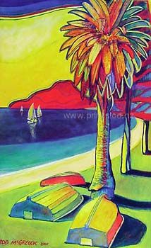 Check out Phoenix Palm by Rob McGregor at New Zealand Fine Prints