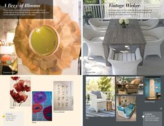 Trends: A Bevy of Blooms and Vintage Wicker High Point Market, Fall 2015, Home Furnishings, Wicker, Two By Two, The Past, Bloom, Trends, Interior Design