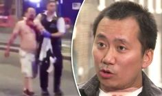 Sunday Express editor #Geoff #Ho gives first TV interview since #London #Bridge #terror #attack