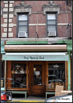 Once Upon A Tart -- my favorite bakery in Soho, NYC