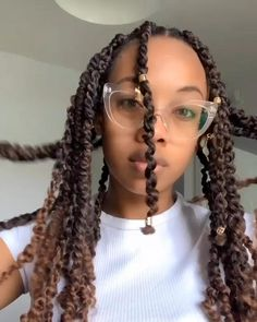 Twist Hairstyles, African Braids Hairstyles, Black Women Hairstyles, Natural Hair Braids, Braids For Short Hair, Natural Hair Styles, Curly Hair Styles, Hair Highlights, Braid Styles