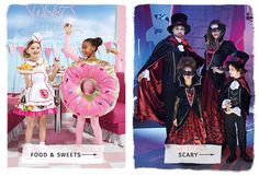 Shop sweet or spine-tingling costumes!