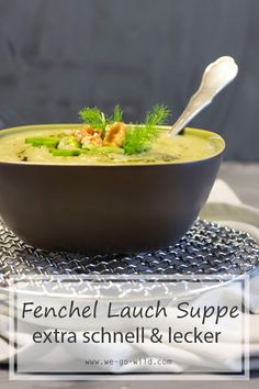 Kartoffel Fenchelsuppe vegan und basisch – WE GO WILD – Well come To My Web Site come Here Brom Full Body Cleanse Detox, Detox Cleanse For Weight Loss, Energy Smoothies, Weight Loss Smoothies, Smoothie Bowl, Smoothie Recipes, Smoothie Detox, Fennel Soup, Simple Muffin Recipe