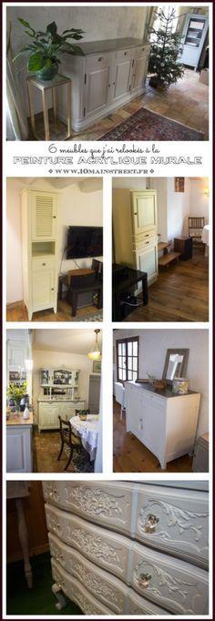 Ces meubles que ju0027ai rénovés sans les poncer  un peu du0027inspiration