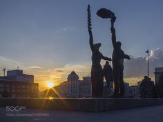 Urban sunset (4) by AlekseyShkoldin