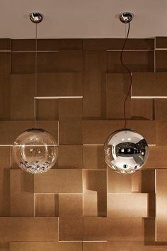 B.Lux - Round transparent - Marco Bisenzi designer - LED 15X3W - Dimmer