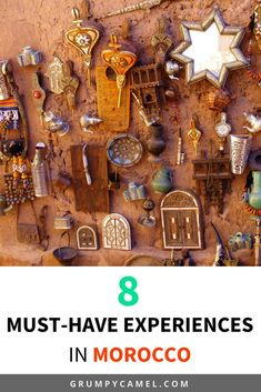 Looking for amazing things to do in Morocco? Here are 8 cultural experiences and unique adventures that you shouldn't miss! #morocco