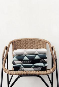 Ferm Living Shop — Remix (Gray) Blanket