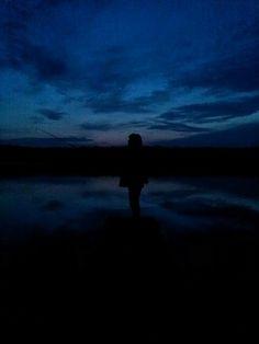 Early sunrise fishing at Deer Creek park