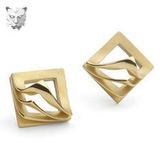 Book leaf earrings