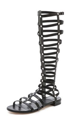 Stuart Weitzman Gladiator Flat Sandals // check out my must-have gladiator sandals on www.harlynsage.blogspot.com
