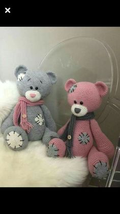 Mesmerizing Crochet an Amigurumi Rabbit Ideas. Lovely Crochet an Amigurumi Rabbit Ideas. Crochet Bear, Cute Crochet, Crochet Crafts, Crochet Teddy Bear Pattern Free, Free Pattern, Diy Crafts, Crochet Toys Patterns, Amigurumi Patterns, Knitted Dolls