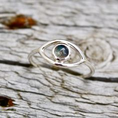 All Seeing Eye Ring All Seeing Eye, Labradorite, Mystic, Silver Rings, Eyes, Sterling Silver, Gold, Jewelry, Jewlery