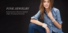 Women's Fine Jewelry Collection - Earrings, Rings, Necklaces & Chains, Charms & Bracelets - Women's Jewelry - J.Crew