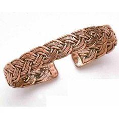 Copper Braids - Copper Bracelet