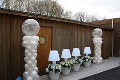 Afbeeldingsresultaat voor ballondecoraties bruiloft