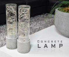 For this instructables I will be making a Concrete Lamp. I will used these lights for an end table. What's nice about these lights, all the electronics are hidden. A simple project that require very little tools. This can enhance any space. You can go as big as you like. Just take the same concept I used in this projects and you'll be on you way. See below for a complete list of what I used to make this project. Here are the materials I used - Litom Led String Lights http://amzn.to/2bKHt8V…