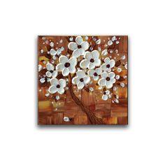 Flor de cerezo árbol pintura moderna obra de arte original