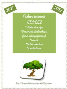 fichier sciences ce1/ce2