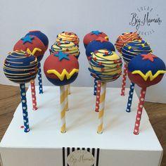 wonder woman cake pops - Google Search