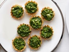 Spanakopita Tartlets - no link to recipe, so here it is... Warm one 10 ...