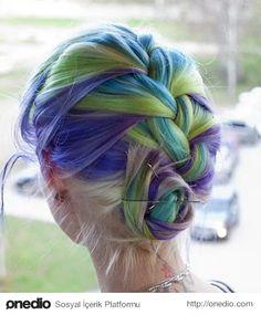 Bu Kış Rengarenk Saçlar Moda!