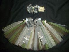 Army ACU tutu set custom made any size Newborn4t por CatyRoseBows