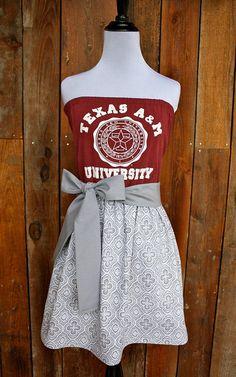Custom A Game Day dress by Jill Be Nimble www.etsy.com/shop/jillbenimble