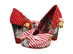 Irregular Choice; Trinkletina - I love this brand because they are so busy and unique, some say ugly, I say work of art! Oh, they're $155.