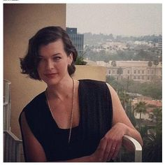 Milla Jovovich hair styled by Philip Carreon using Cabella Hair products