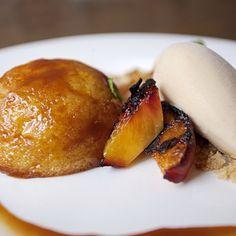 ... peaches, Rare Tea Cellars Georgia peach nectar rooibos ice cream from