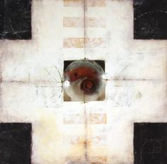 """Her work is exquisite. Graceann Warn, Volute, 21"""" x 21"""" encaustic & mixed media. Here's a link to the blog post about her work: http://www.millergallery.com/artblog/?p=530"""
