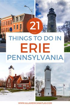 These are the best things to do in Erie, Pennsylvania, including what to do in Erie for kids, things to do in Erie for couples, where to eat in Erie, the best things to do in Erie in the winter, and the best Pennsylvania travel guide. Erie Pennsylvania, Stuff To Do, Things To Do, Erie County, Great Lakes Region, Places Of Interest, What To Pack, Usa Travel, Travel Around