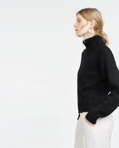 HIGH NECK SWEATER-View all-Knitwear-WOMAN | ZARA United States