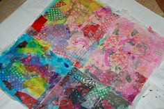 Make your own paper cloth