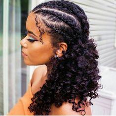 Natural Hair Cornrows Haarzöpfe 21 Easy Ways to Wear Natural Hair Braids Natural Braided Hairstyles, Natural Hair Braids, Natural Curls, Braids For Curly Hair, Cornrows Hair, Styling Natural Hair, Natural Braid Styles, Kanekalon Hair, Protective Hairstyles For Natural Hair