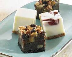 Mini Cheesecake and Brownie Bites and other delicious groceries delivered to your door. #Schwans #FoodDelivery #IceCream&Dessert