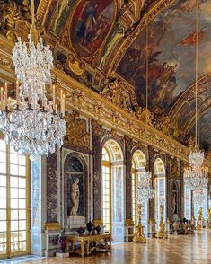 Time In France, Astronaut Wallpaper, Marble House, Palace Of Versailles, Us Travel Destinations, Stunning View, City Lights, Wonderful Places, Places To Visit