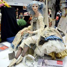 Великолепие авторских работ на выставке «Салон Кукол 2016»: куклы, вызывающие восторг, вдохновение и удивление - Ярмарка Мастеров - ручная работа, handmade
