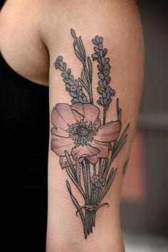 this is perfect except instead of a poppy I would want a daisy and forget me knots