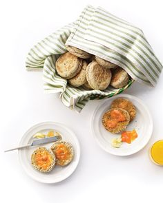 Multigrain English Muffins, Wholeliving.com
