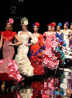 Seville is known as a strong place for  flamenco dance and tradition!