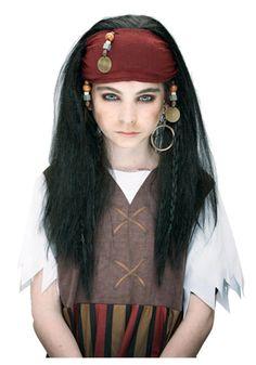 Simple pirate makeup